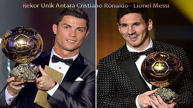 Rekor Unik Antara Cristiano Ronaldo – Lionel Messi