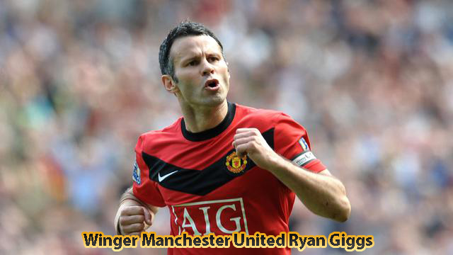 Winger Manchester United Ryan Giggs