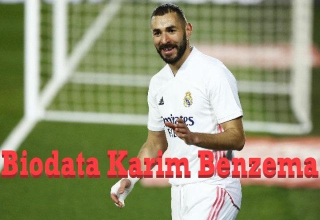 Biodata Karim Benzema
